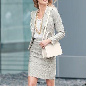 WHBM skirt and blazer